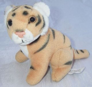 Blue Market GmbH Lilienthal Plush Tiger Cub Baby Roars