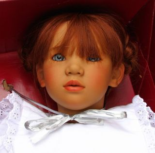 1991 Annette Himstedt Liliane Girl Doll Lovely Faces Of Friendship 28