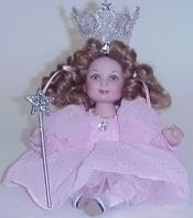 Marie Osmond Wizard Oz Tiny Tot Doll Baby Glinda the Good Witch New in