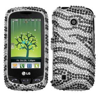 Zebra Bling Hard Case Cover for LG Cosmos Touch VN270