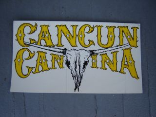Old Cancun Cantina Restaurant Bar Large Decal Hanover Hagerstown