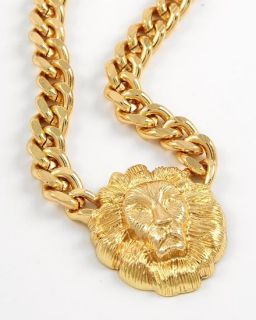 Rihanna Nicki Minaj Lion Head Jewelry Necklaces Bracelets Earrings