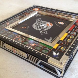 Harley Davidson Collectors Edition Monopoly Game by Franklin Mint
