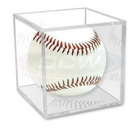 of 36 Baseball Display Case Holders Perfect for Little League
