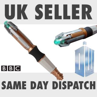 new licensed official genuine Doctor Dr Who Sonic Screwdriver Torch