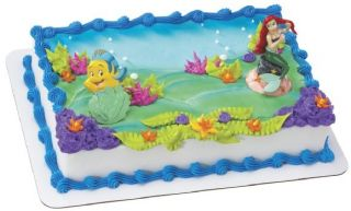 Little Mermaid Ariel Cake Topper Decoration Princess NW