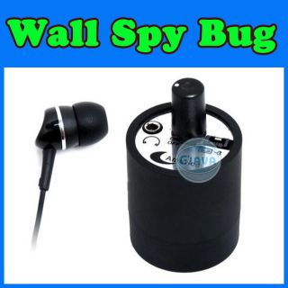 Next Door Wiretap Spy Listening Device Bugging Device Wall Ear Audio