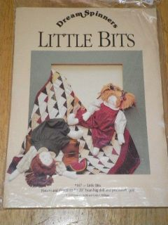 Dream Spinners 167 Little Bits 20 Doll Quilt Patter