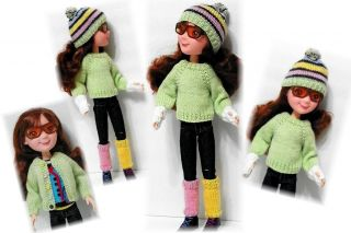 Sweater Accessories Pattern by Kdys for LittleMissMatched Tonner Doll