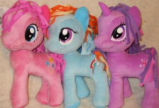 My Little Pony Official 11 Plush Set   Rainbow Dash Twilight Sparkle