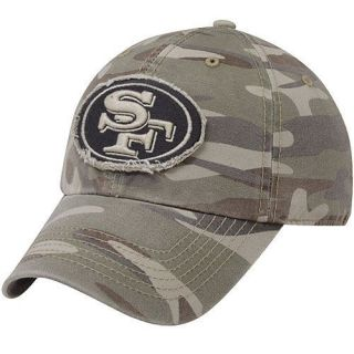 47 Brand San Francisco 49ers Tarpoon Franchise Fitted Hat Camo