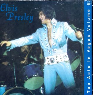 Elvis Presley Top Acts in Vegas Vol 6 Live CD 22 Hits 08 73 Import