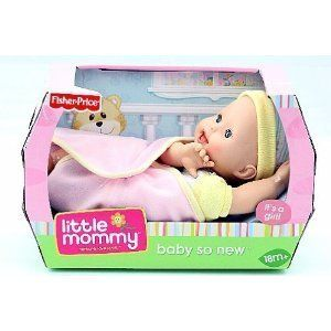 Fisher Price Girls Little Mommy Baby So New Its A Girl Doll Cute