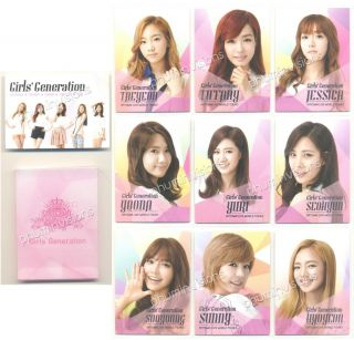 SNSD SMTOWN Live World Tour Trading Card Near View Set 10 Cards