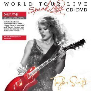 LIVE TAYLOR SWIFT World Tour Live Speak Now 16 SONG CD 22 TRACK BONUS