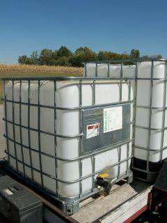 Storage Tank Container Tote 250 Gallon Plastic