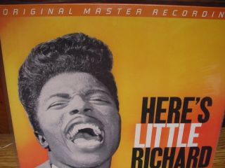 Little Richard MFSL SEALED 180 Gram Mono Numbered Limited Edition