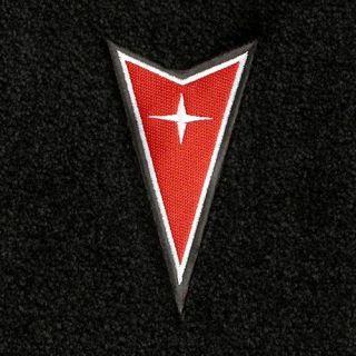 Lloyd Mats Pontiac Grand Prix Dart Emblem Velourtex Front Floor Mats