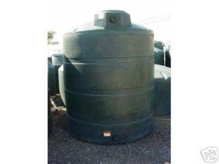 3000 Gallon Poly Water Only Storage Tank Tanks 95x107