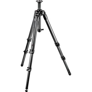 MT057C3 3 Section Carbon Fiber Tripod w Rapid Center Column
