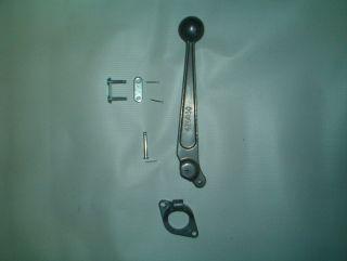 hydraulic valve handle kit used on farm equipment and log splitters