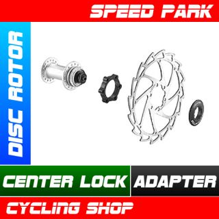 New Disc Rotor Center Lock Adapter Red