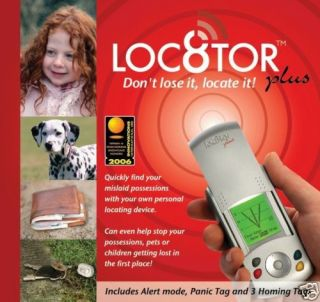 LOC8TOR Plus Child Pet Locating Homing Device Locator