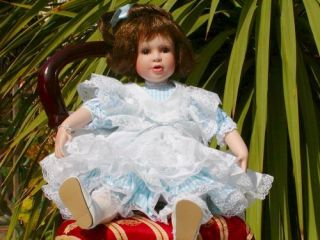 Lovely Lisa A Cottage Collectibles Doll by Ganz AR