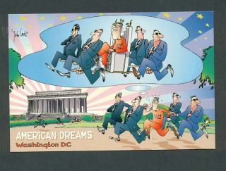 Oz Postcard John Lodi Washington DC American Dreams