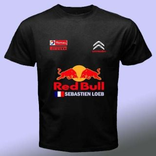 New Sebastien Loeb Red Hot Bull Citroen WRC Tee s 3XL