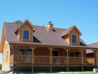 Log Home Package Kit 30 x50 2 Level Logs 2nd Floor Roof Porch 39 810