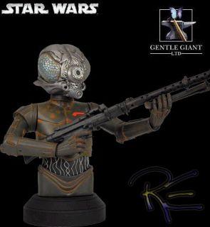 Gentle Giant Star Wars ESB 4 Lom Mini Bust New in Stock