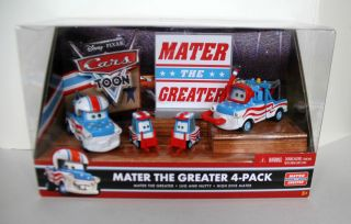 Disney Cars Mater The Greater High Dive Mater Lug and Nutty