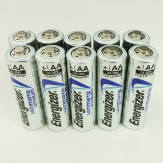New Energizer E2 AA 1 5V Lithium Battery L91 Exp 2025 Open Box