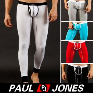 1pc Mens Pants Bottom Long Johns Thermal Underwear s M L 5 Colors Sexy