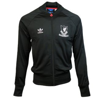 New Official Liverpool Current 2012 Adidas Originals Black Track Top