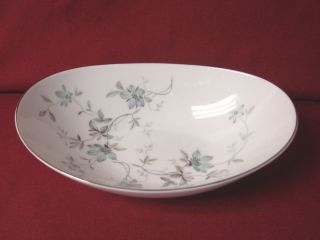 Noritake China Dinnerware Called Lorene Pattern 5764 Oval Serving Bowl