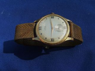 Vintage Antique Lorie 17 Ruby Jewels Mens Swiss Wrist Watch