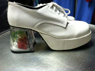 Mens 70s platform shoes in clothing for Fish tank shoes