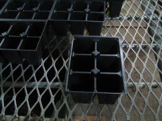 NEW 6 Cell Seed Starting Trays Extra Deep  18 6pks Transplanting