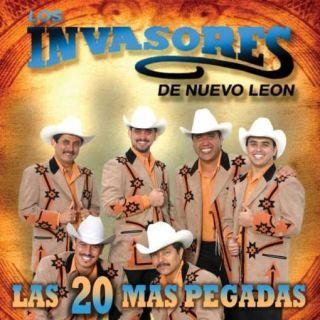 Los Invasores de Nuevo Leon Las 20 mas Pegadas CD New 5099920908928