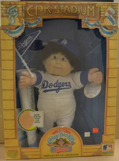 Cabbage Patch Kids All Stars   Los Angeles Dodgers   VINTAGE   Coleco