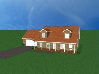 White Cedar Log Cabin Home House Kit Prebuilt Panelized Custom Home