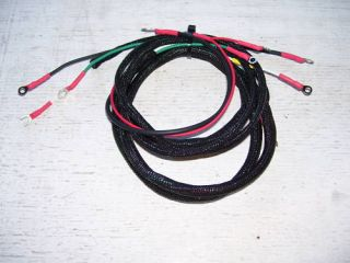 Allis Chalmers B C CA Main Wiring Harness