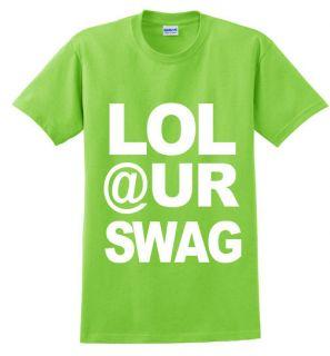 LOL UR Swag Odd Future T Shirt OFWGKTA Wolf Gang Tee Tshirt