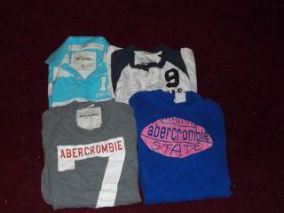 Huge Lot 4 Abercrombie Boys T Shirts XL