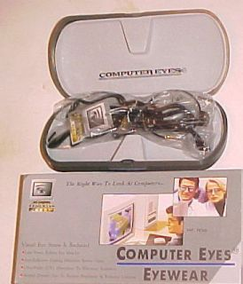 Computer Eyes Eyewear Power 0 50 Visual Stress Director Glasses New in