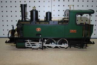LGB 2078 Corpet Louvet Tank Steam Locomotive G Scale Green