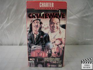 Crimewave VHS Louise Lasser Bruce Campbell Sam Raimi