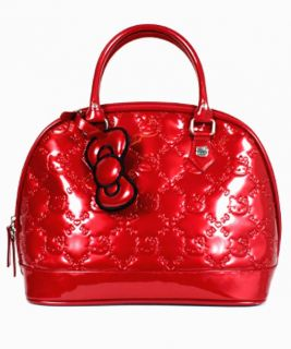 Loungefly Hello Kitty Tango Red Patent Embossed Bag